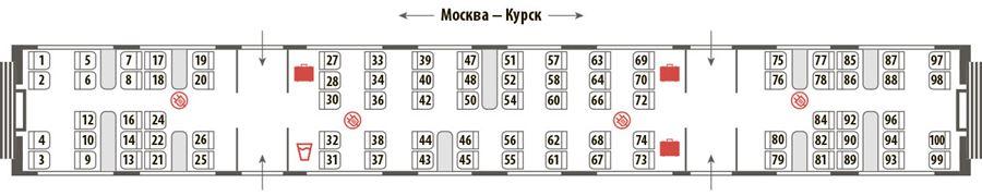 Схема вагона ласточка смоленск вагон 4
