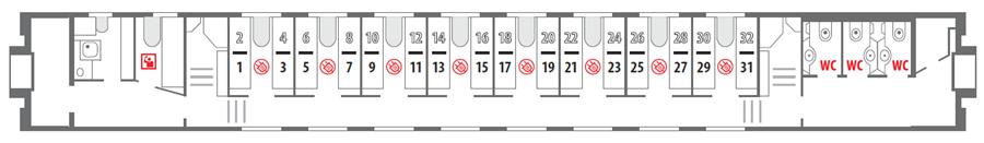 Схема поезда 115а санкт-петербург адлер