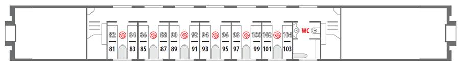 Билеты на поезд 035А/036С Санкт-Петербург - Адлер - Санкт-Петербург
