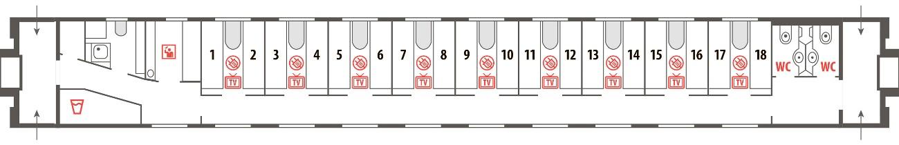 Билеты на фирменный поезд Италмас без комиссии