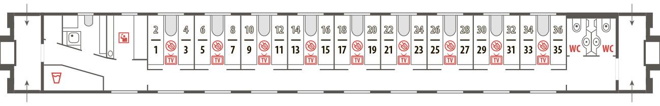 Билеты на фирменный поезд Волга (059Г/059А) Нижний Новгород - Санкт-Петербург - Нижний Новгород