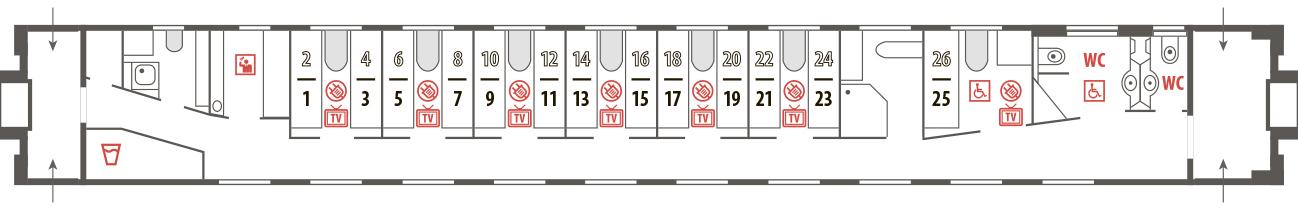 Билеты на фирменный поезд Жигули № 009Й/010Й без комиссии